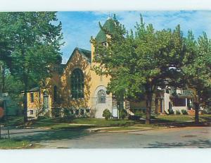 Unused Pre-1980 CHURCH SCENE Paulding Ohio OH L3798