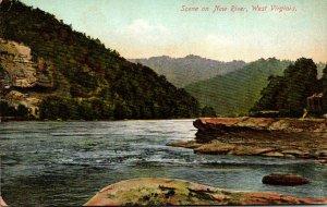 West Virginia Scene On New River 1912