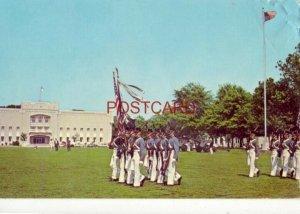 In full dress uniform, CITADEL CADETS ON PARADE, CHARLESTON, S.C.