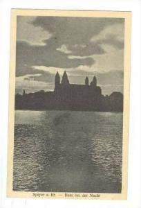 Dom Bei Der Nacht, Speyer a. Rh (Rhineland-Palatinate), Germany, 1900-1910s