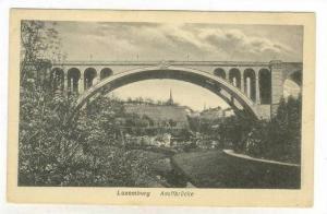 Luxembourg Adolfbrucke, 1910s