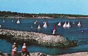 MA - Rockport. Sandy Bay, Sailboat Racing