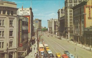 WINNIPEG , Manitoba , Canada , 50-60s; Main St. Looking North from Portage Ave.
