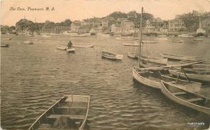 Boats C-1910 Cove Pawtuxet Rhode Island Kirby postcard 10922