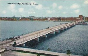 Massachustetts Cambridge Harvard Bridge