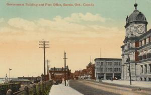 SARNIA , Ontario , Canada , 1900-10s ; Government Building & Post Office