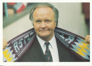 Ron Atkinson Aston Villa Football Club Manager Postcard
