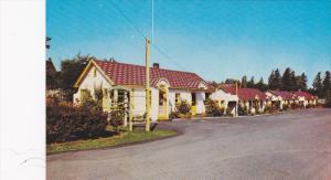 Rose Garden Motel , ALDERGROVE , B.C.  , Canada , 50-60s , Trans Canada Highway
