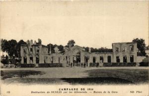 CPA Campagne de 1914 Destruction de SENLIS par les Allemands Ruines (291685)