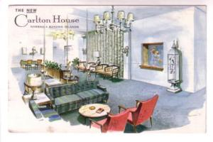 Interior Carlton House Hotel Lobby, Nassau Bahamas, Advertising for Wolfe on ...