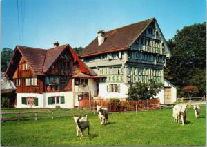 9050 Appenzell Switzerland Galerie Bleiche Retonio's Zauber Museum Postcard D34