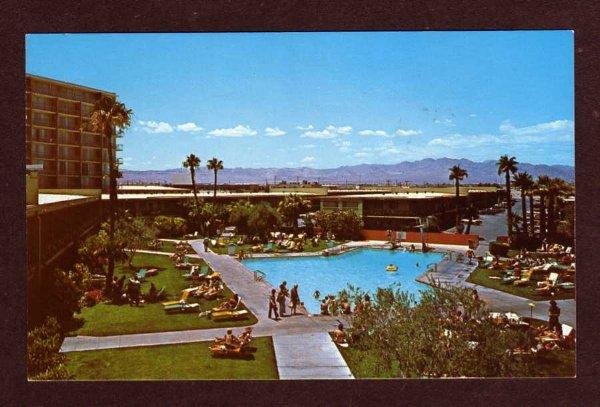 NV Stardust Hotel & PooL LAS VEGAS NEVADA Postcard PC
