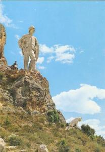 Postal 020505 : monumento a los Pastores, Pancorbo - Burgos
