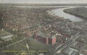 WASHINGTON, D.C., 1900-1910s; Looking Southeast From Top Of Washington Monument