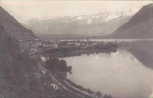 Austria Zell am See gegen das steinere Meer 1923 Real Photo