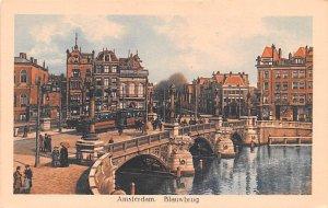 Blauwbrug Amsterdam Holland Unused