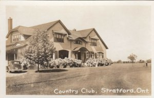 RP: STRATFORD , Ontario , Canada , 1930s-40s ; Country Club