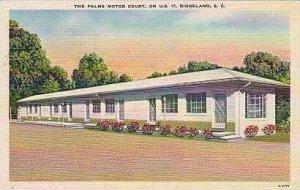 South Carolina Ridgeland The Palms Motor Court