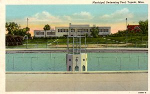 Tupelo, Mississippi - The Municipal Swimming Pool - c1930