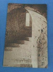 Vintage Postcard Main Stairway Colchester Castle Essex G1F
