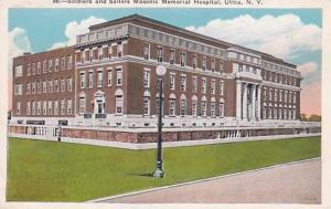 New York Utica Soldiers and Sailors Masonic Memorial Hospital