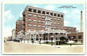 Postcard TX Corpus Christi Nueces Hotel 1915 View B3