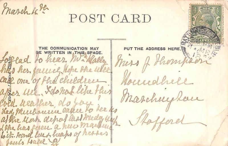 Ireland Galway, Clifden 1918