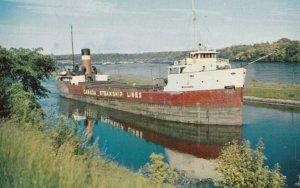 C.S.L. Boat , Canal , Long Sault Rapids , 1950-60s