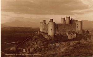Harlech Castle and Snowdon Judges LTD Postcard