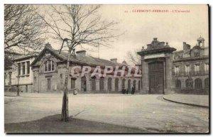 Old Postcard Clermont Ferrand l & # 39universite