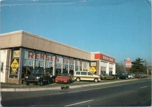 Remsen Dodge Dodgetown Hazlet New Jersey NJ Ad Advert Unused Postcard D44 *As Is