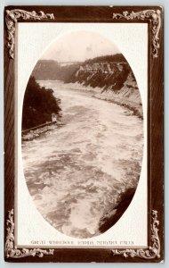 Niagara Falls New York~Embossed~Art Nouveau~Great Whirlpool Rapids~1910 Postcard