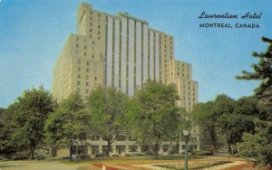 THE LAURENTIEN Montreal, Canada Sheraton Hotel ca 1960s Vintage Postcard