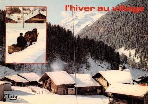 France l'hiver au village, winter 1979