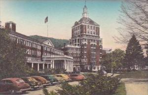 Virginia Hot Springs Front Of The Homestead Hotel Albertype