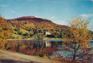 Scotland Loch Achray and the Trossachs Hotel Perthshire