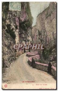 Old Postcard Vercors Route Des Grands