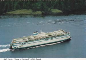 B.C. Ferry ,QUEEN OF ESQUIMALT , Canada , 50-70s