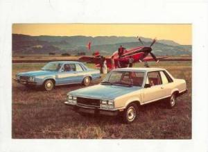 1978 Mecury Zephyr Cars in Airfield w/ Propellor Plane