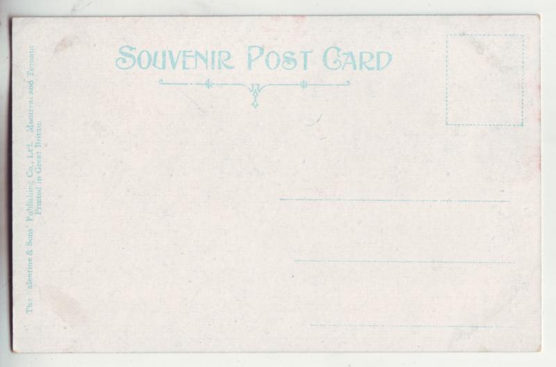 P845 old souvenir card brook fishing P.E.I. canada