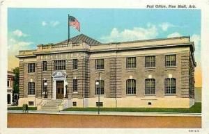 AR, Pine Bluff, Arkansas, Post Office, Curteich 5A112-N