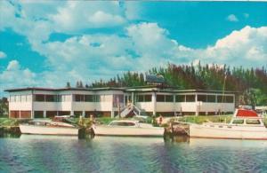Florida Venice Fisherman's Wharf Restaurant Lounge & Marina 1959