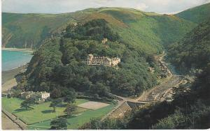 Post Card Devon Lynmouth Countisbury Hill
