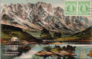 The Remarkables Queenstown NZ New Zealand FT Series 1290 Postcard E33