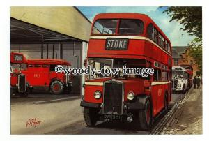 tm6130 - Potteries Motor Traction, Titan TD4, Artist - G.S.Cooper - postcard