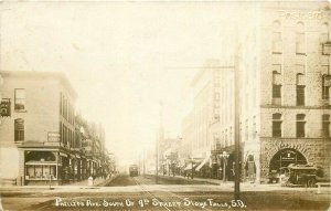 SD, Sioux Falls, South Dakota, Phillips Avenue,  RPPC