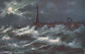 BLACKPOOL #2 , England, 1900-1910's; Rough Seas ; TUCK 6649