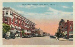 SELMA , Alabama , 1930-40s Broad Street