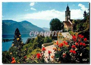 Postcard Modern Ronco S Ascona Lago Maggiore