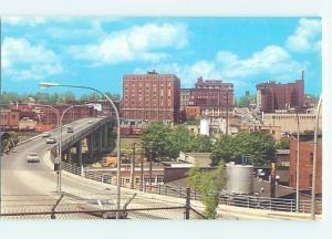 Unused Pre-1980 BRIDGE SCENE Jamestown New York NY H7709